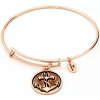 Ladies Chrysalis Gold Plated Ambition Oceania Anchor Expandable Bangle CRBT0601RG
