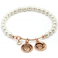 Chrysalis Tranquility Wisdom Shell Pearl Bangle JEWEL