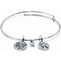Ladies Chrysalis Silver Plated Protection Life Tree Of Life Expandable Bangle