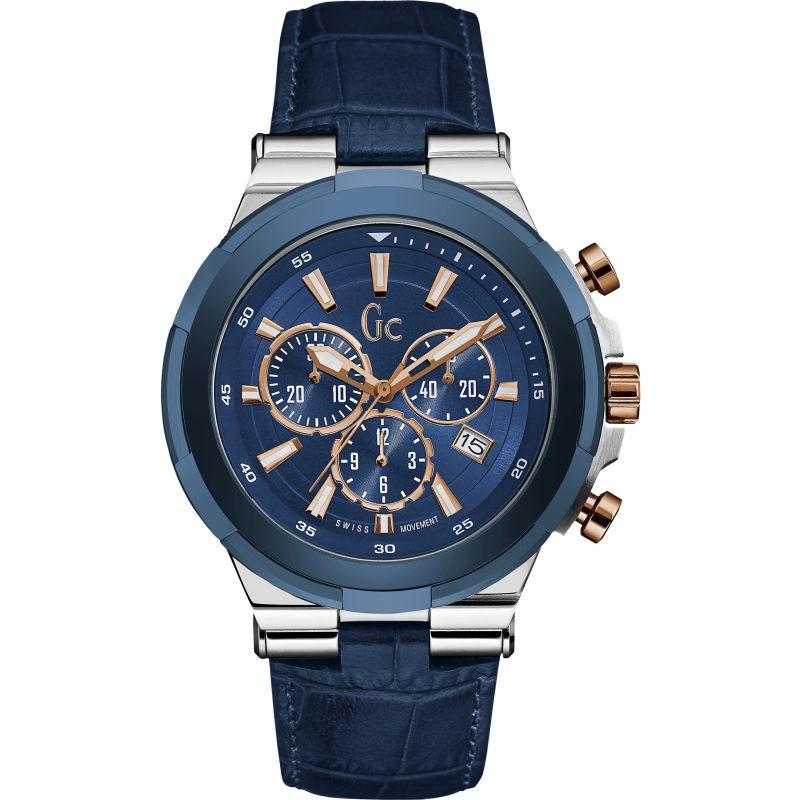 Herren Gc Structura Chronograph Watch Y23010G7
