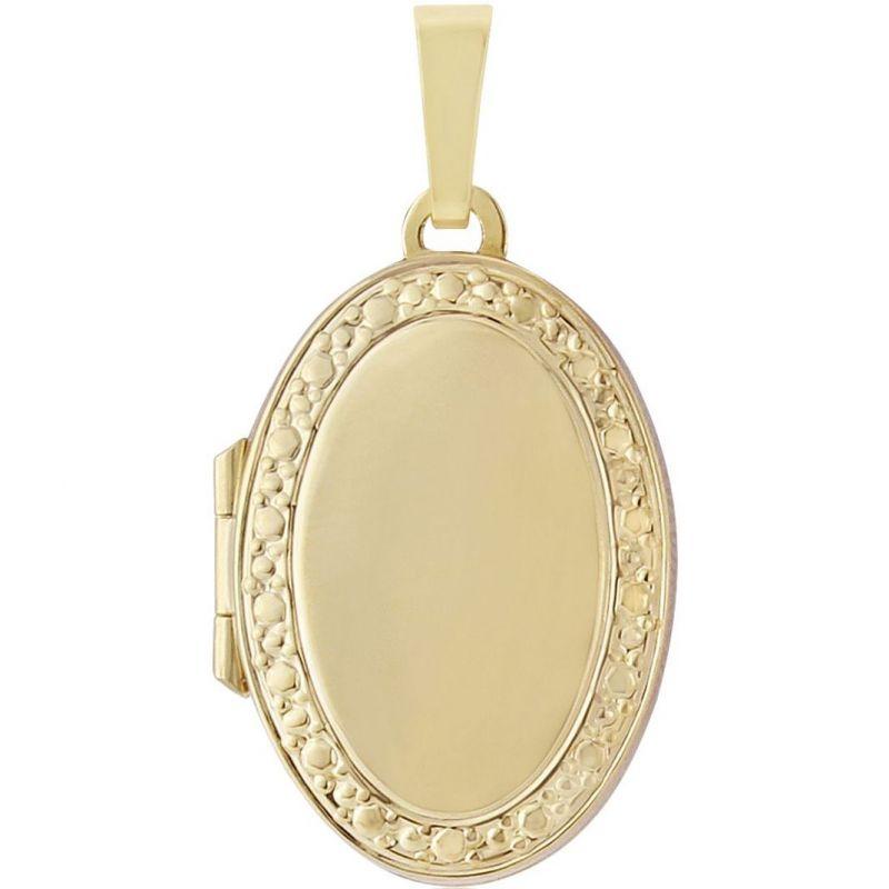 Oval-Shaped Family Locket