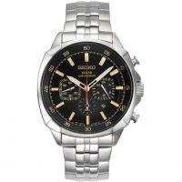 Herren Seiko Chronograf solar betrieben Uhr