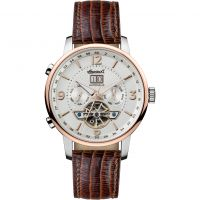 Ingersoll The Grafton Multifunction Herenhorloge Bruin I00701