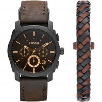 homme Fossil Machine Chronograph Watch FS5251SET