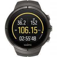 Unisex Suunto Spartan Ultra Ultra Stealth Titan HR Bluetooth Titanium Alarm Chronograph Watch