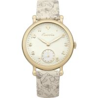 Damen House Of Florrie Violett Printed Uhr