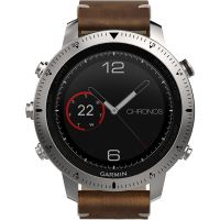 homme Garmin Fenix Chronos Bluetooth GPS HR Alarm Chronograph Watch 010-01957-00