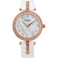 Damen Pierre Lannier Elegance Ceramic Watch 198F990