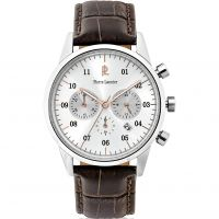 Herren Pierre Lannier Eleganz Chrono Chronograf Uhr