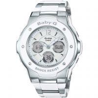 Damen Casio Baby-G Alarm Chronograph Watch MSG-300C-7B3ER