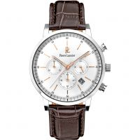 Mens Pierre Lannier Week End Vintage Chronograph Watch