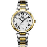 femme Rotary Swiss Made Lucerne Midsize Quartz Watch LB90188/01/L