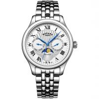 Hommes Rotary Moonphase Montre