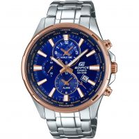 Mens Casio Edifice Alarm Chronograph Watch