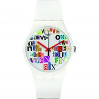 Unisex Swatch Multi Collage Uhr