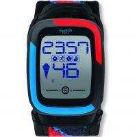 unisexe Swatch Funkzero XL Alarm Chronograph Watch SUVB101XL