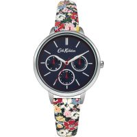 Cath Kidston Mews Ditsy Navy Strap Multifunction WATCH