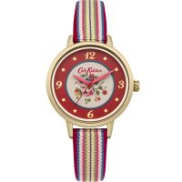 Damen Cath Kidston Kew Sprig Woven Armband Uhr