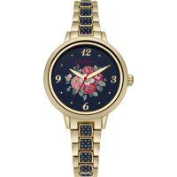 femme Cath Kidston Forest Bunch Navy Spot Bracelet Watch CKL008UGM