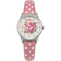 Damen Cath Kidston Forest Bunch Pink Spot Strap Watch CKL012PS