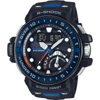 homme Casio G-Shock Gulfmaster Quad Sensor Alarm Chronograph Radio Controlled Tough Solar Watch GWN-Q1000-1AER