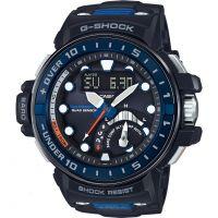 Herren Casio G-Shock Gulfmaster Quad Sensor Wecker Chronograf funkgesteuert Uhr