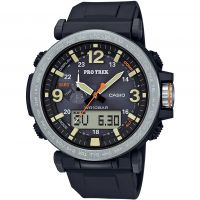 homme Casio Pro-Trek Alarm Chronograph Tough Solar Watch PRG-600-1ER
