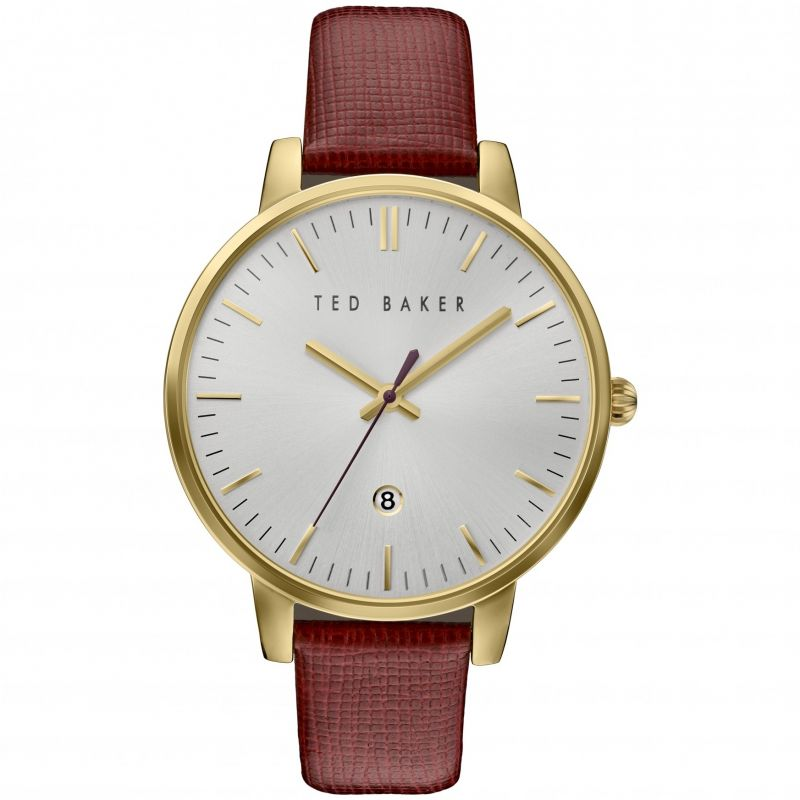 Ted Baker Kate Saffiano Leather Strap Dameshorloge Bruin TE10030739