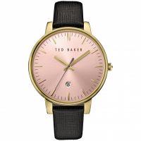 Damen Ted Baker Kate Saffiano Leder Armband Uhren