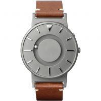 unisexe Eone The Bradley Classic Cognac Leather Strap Watch BR-BRWN