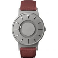 Unisex Eone The Bradley Canvas Crimson Rot Armband Titan Uhr