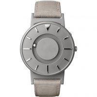 Unisex Eone The Bradley Canvas Beige Strap Titanium Watch