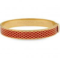 Ladies Halcyon Days Gold Plated Salamander Bangle 201/DH003