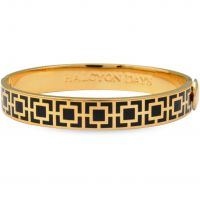 Ladies Halcyon Days Gold Plated Agama Bangle 201/DH049