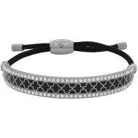Damen Halcyon Days Silber Plated Agama Sparkle Freundschaft Armband