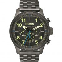 Mens Nixon The Safari Dual Time Watch A1081-1418