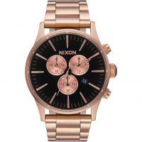 Herren Nixon The Sentry Chrono Chronograf Uhr