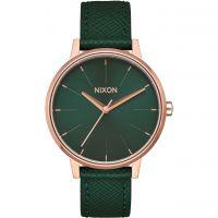 Unisex Nixon The Kensington Leder Uhr