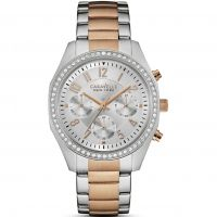 Damen Caravelle New York Melissa Chronograph Watch 45L148