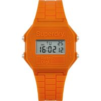 homme Superdry Retro Digi Alarm Watch SYG201O