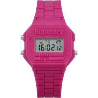 femme Superdry Mini Retro Digi Alarm Chronograph Watch SYL201P