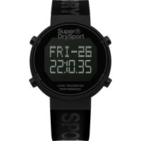 unisexe Superdry Digi Pedometer Chronograph Watch SYG203BB