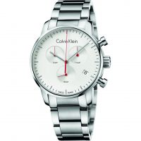 homme Calvin Klein City Polished Chronograph Watch K2G271Z6