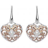 Ladies Unique Sterling Silver Earrings ME-575