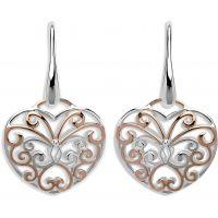 Ladies Unique Sterling Silver Earrings ME-576