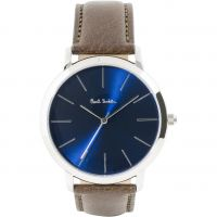 homme Paul Smith MA Leather Strap Watch P10091
