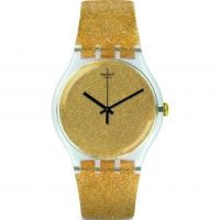 unisexe Swatch Nuit Doree Watch SUOK122