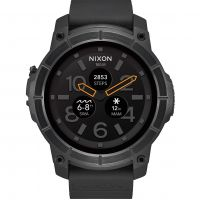 Nixon The Mission Android Wear Bluetooth Smart Herenhorloge Zwart A1167-001