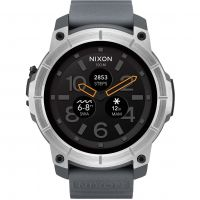 Mens Nixon The Mission Android Wear Bluetooth Smart Alarm Watch