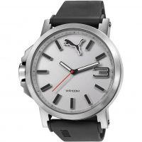 Herren Puma PU10294 ULTRASIZE 50 - silver white Watch PU102941007